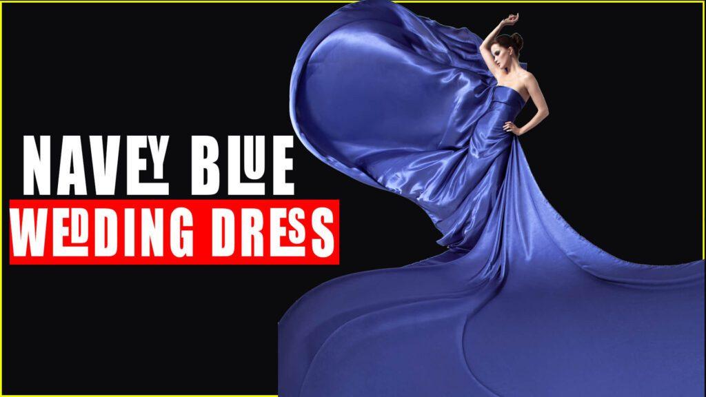 Navy Blue Dress for a wedding